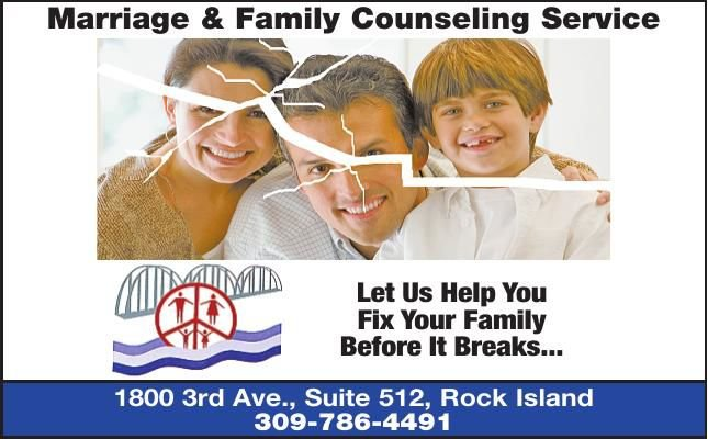 MARRIAGE AND FAMILY COUNSELING - Ad from 2018-02-22