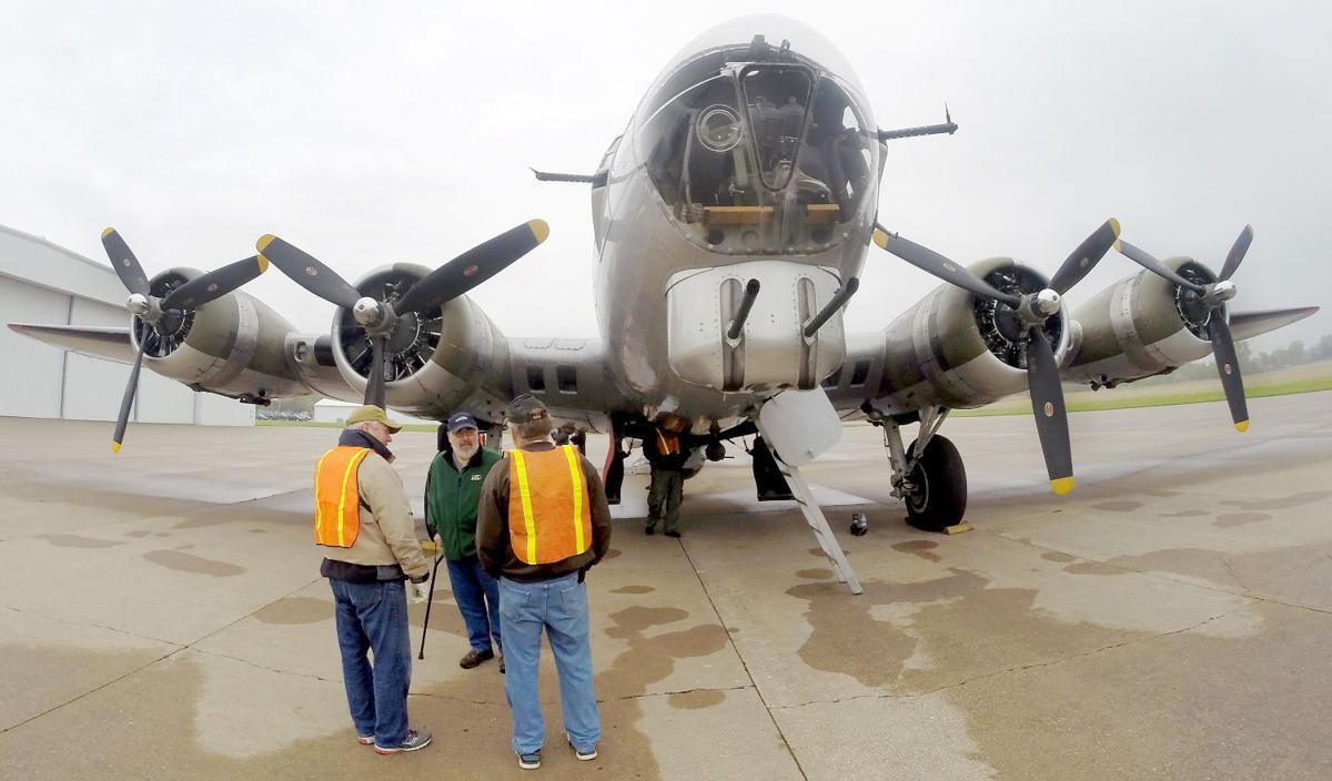 photos b 17 aluminum overcast visits news