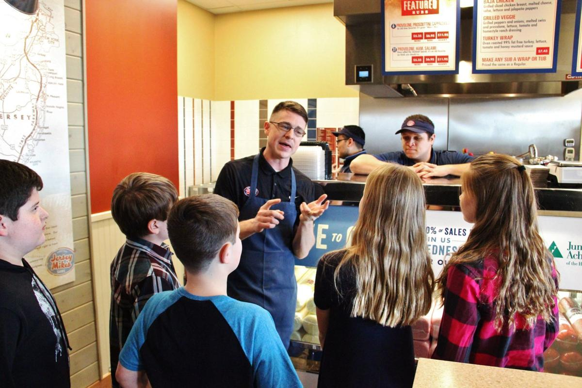 Jersey Mike's, JA students