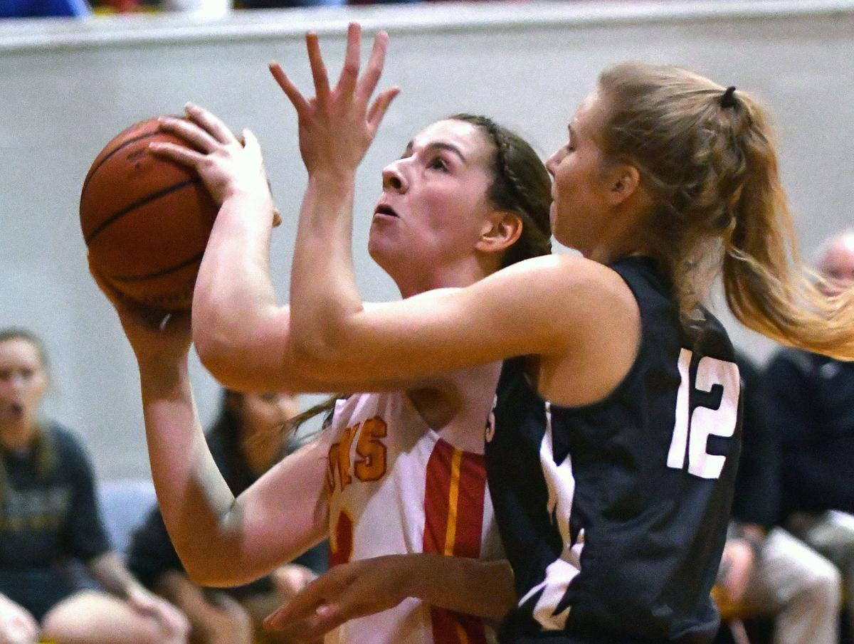 Galesburg vs Rock Island girl's basketball