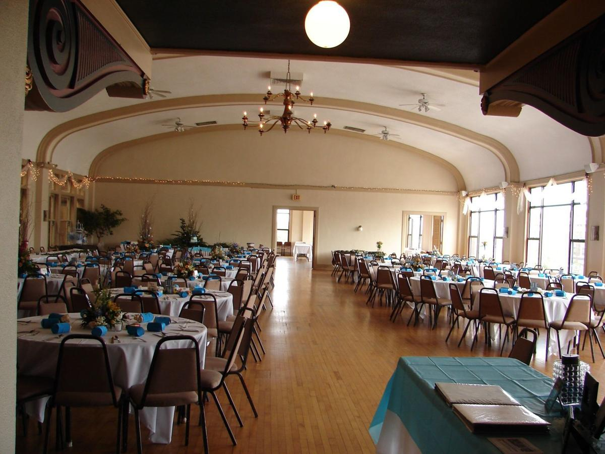 Moline Club ballroom