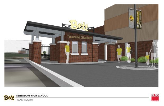 Ticket booth rendering