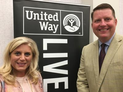 2018 United Way chair, vice chair