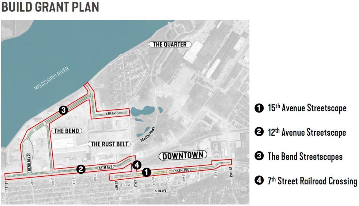 Build Grant plan areas
