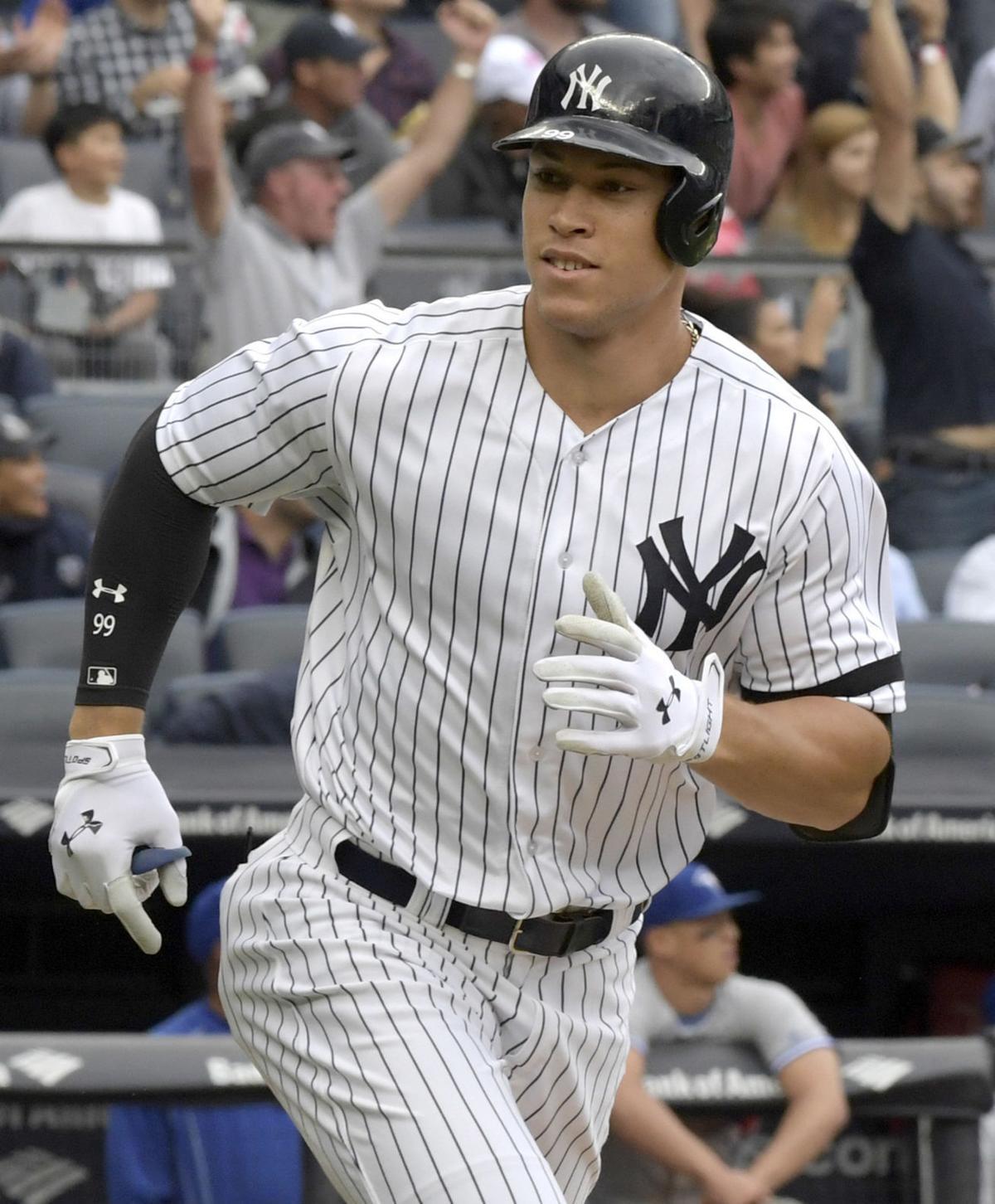 Yankees-Judge-Stanton Baseball