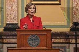 Iowa Gov. Kim Reynolds proposes $8.1 billion budget