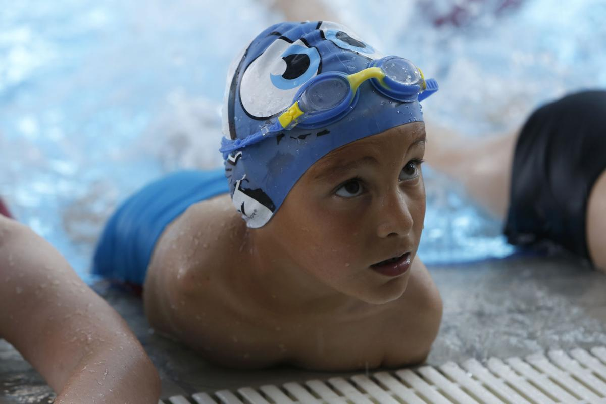 Bosnia Disabled Swimmer