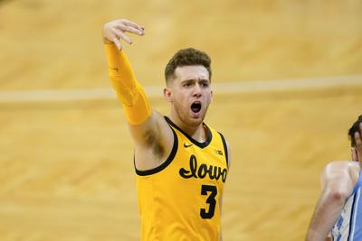 North Carolina Iowa Basketball