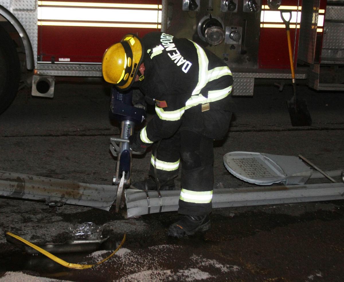 Rick's Six: 1 hurt in Locust Street crash, workplace accident