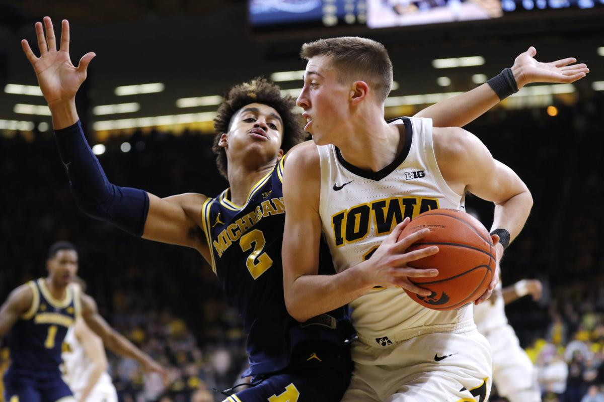 Michigan Iowa Basketball