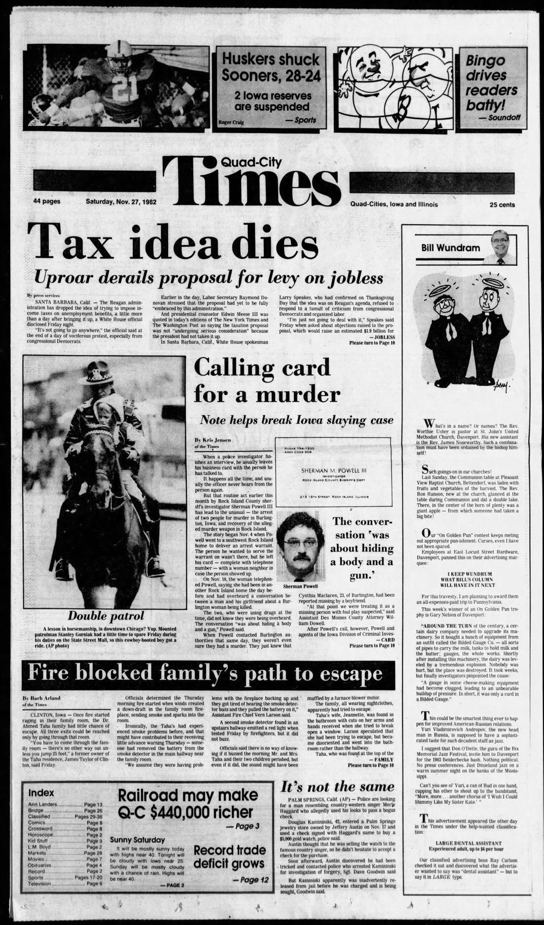 Nov. 27, 1982 page 1