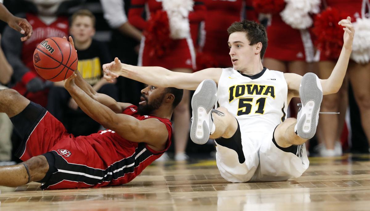 NIT S Dakota Iowa Basketball