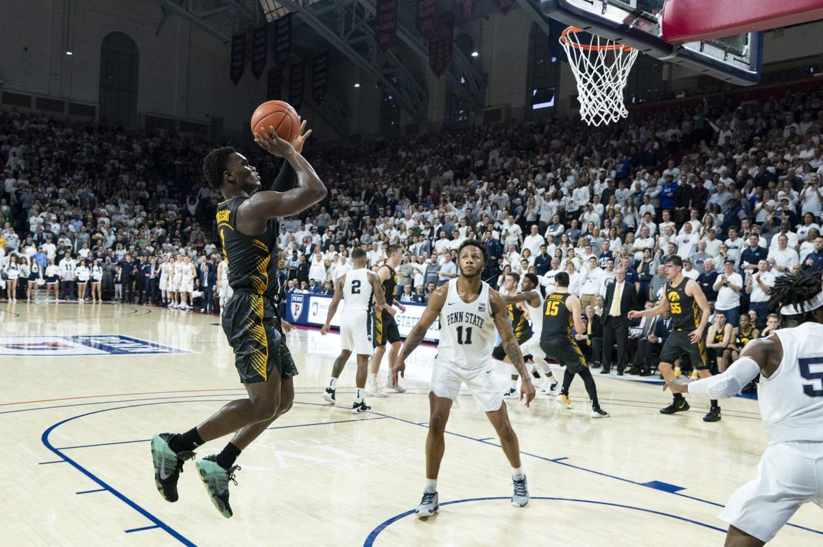Iowa Penn State Basketball