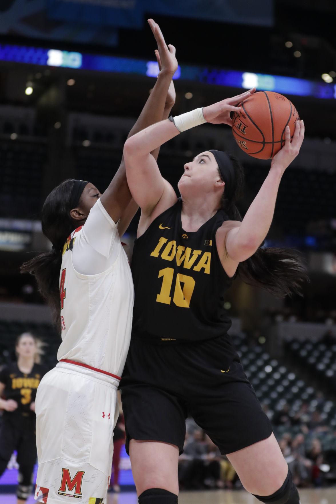B10 Iowa Maryland Basketball