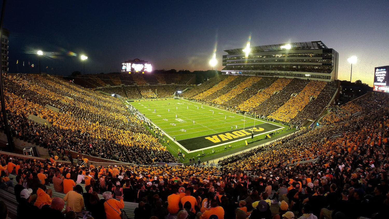Night games likely for Hawkeyes, but undetermined