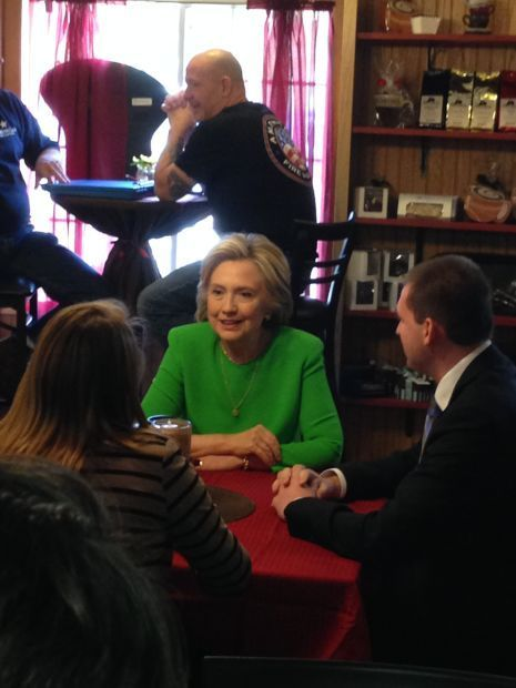 Hillary Clinton in LeClaire