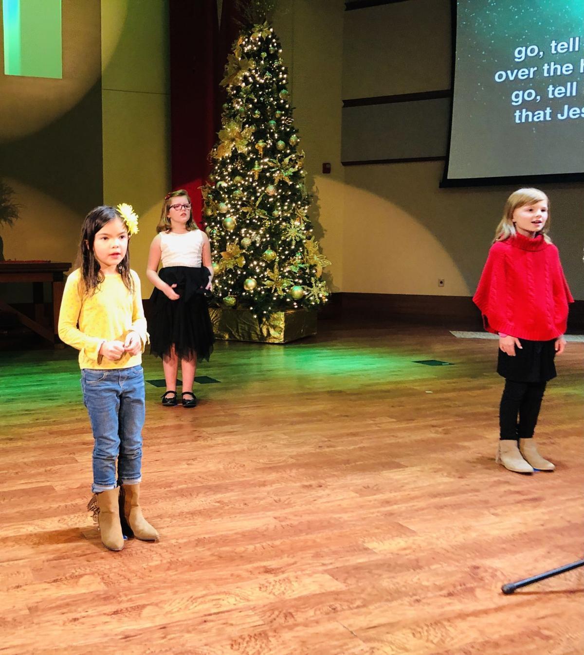 Children's Choir at First United Methodist Church in Geneseo