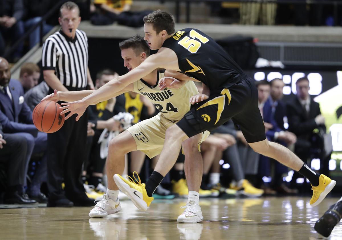 Iowa Purdue Basketball