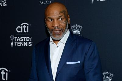 Mike Tyson attends the Citi Taste Of Tennis on August 22, 2019 in New York City.