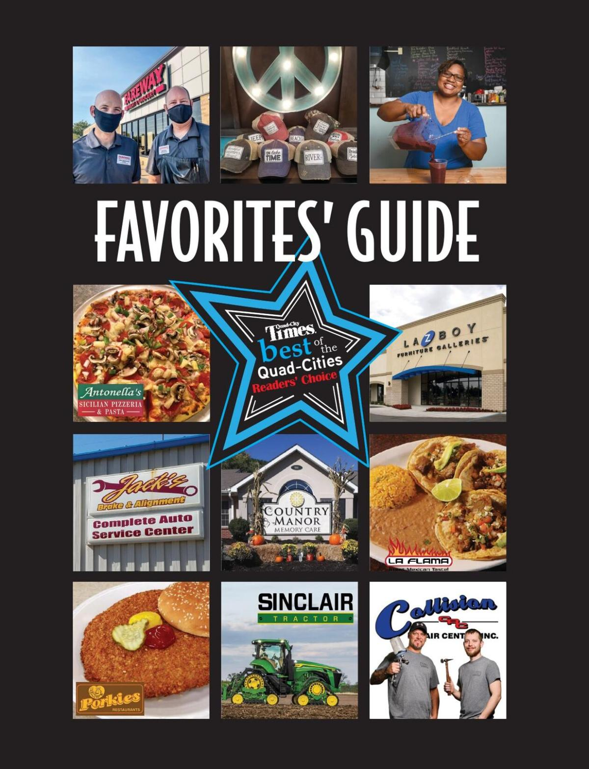 2020 Quad-City Readers' Choice Favorites Guide