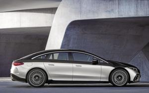 2022 Mercedes-Benz EQS.