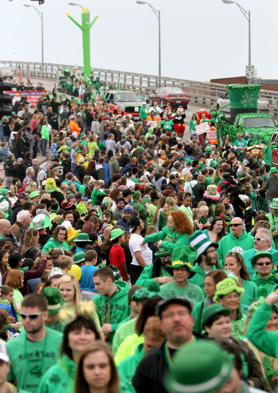 1. Parade for St. Patrick's Day
