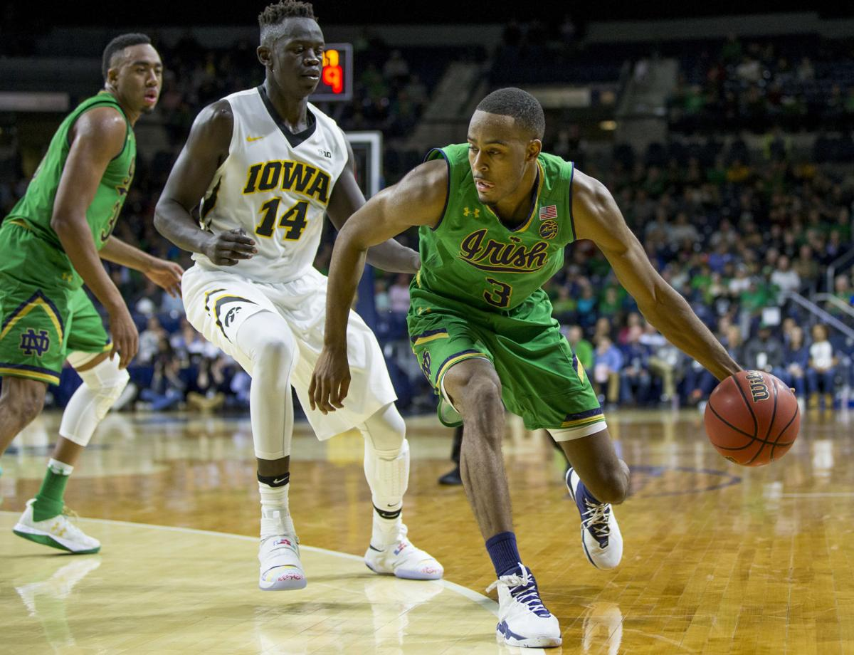 Iowa Notre Dame Basketball