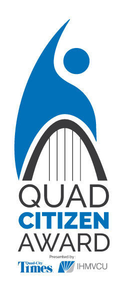 Quad-Citizen Award logo