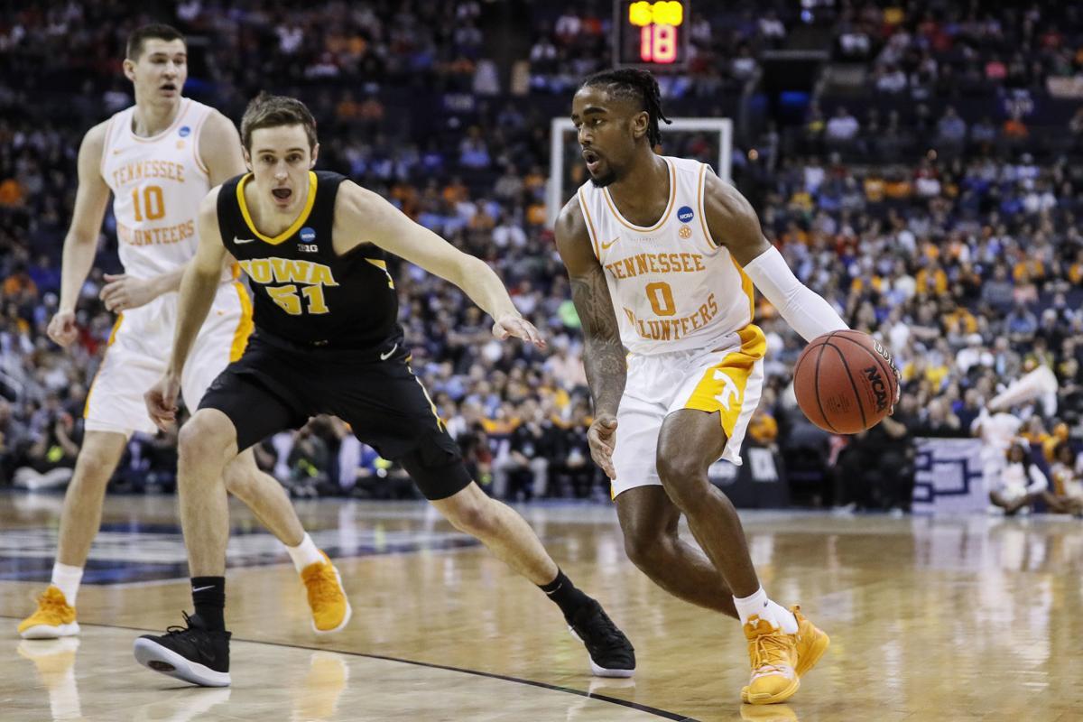 NCAA Tennessee Iowa Basketball