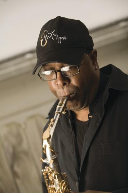 frank drew sax player