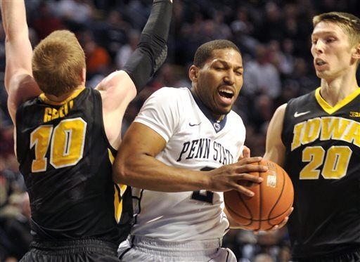 Iowa Penn St Basketball