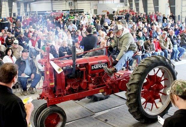 Mecum Auctions; John Deere; auction; Antique Tractors