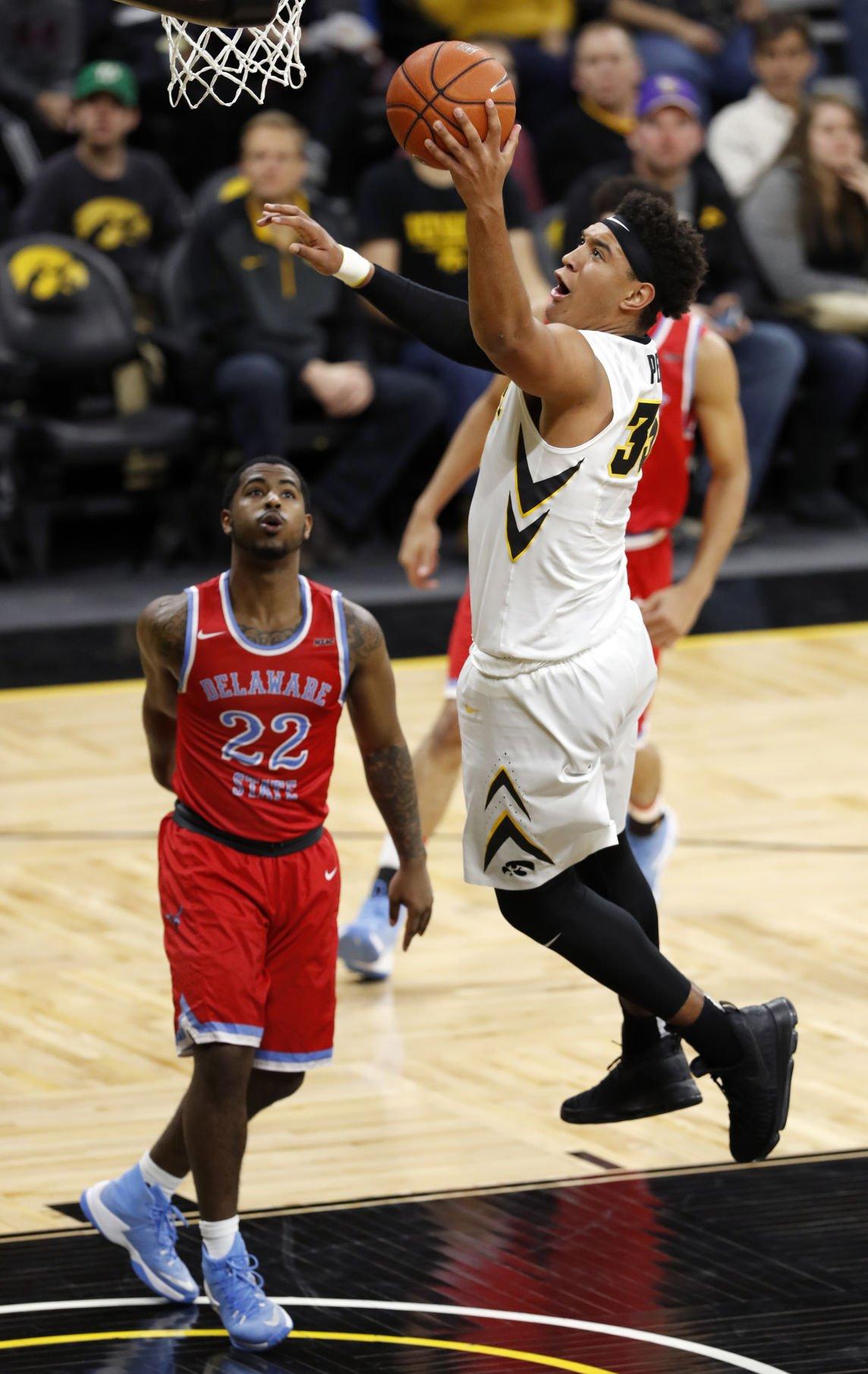 Delaware St Iowa Basketball