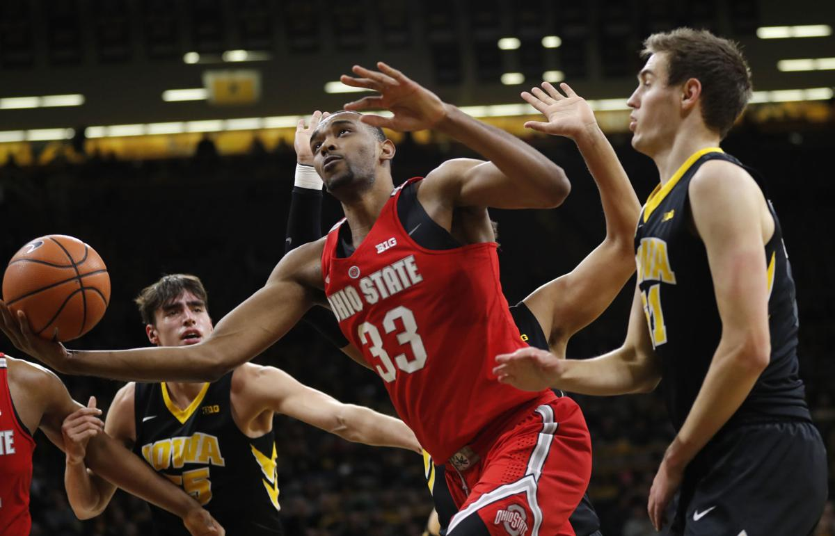 Ohio St Iowa Basketball