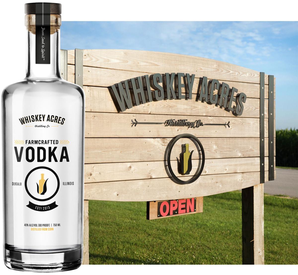 Whiskey Acres vodka