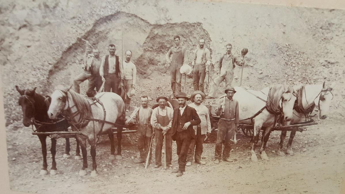 Port Byron miners