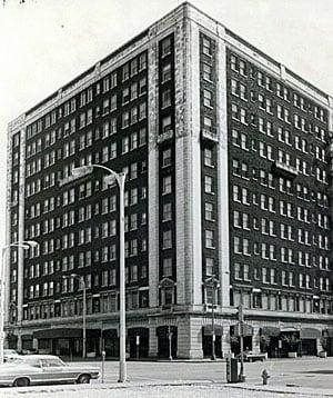 Blackhawk Hotel in 1977