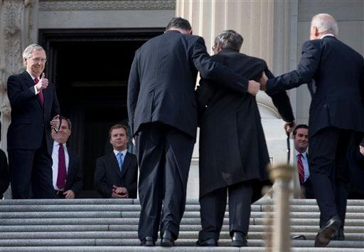 Mark Kirk, Mitch McConnell, Joe Manchin, Joe Biden