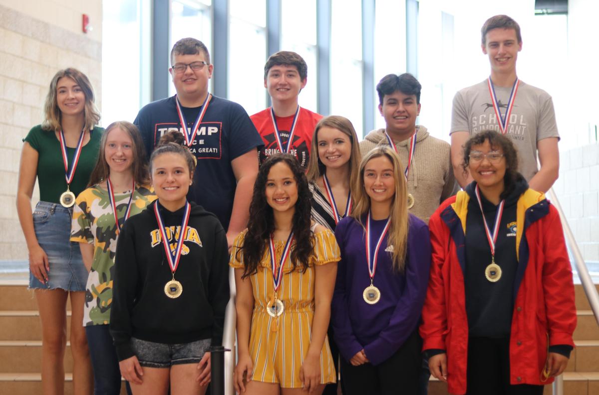 Bettendorf High School seniors awarded the Iowa Seal of Biliteracy