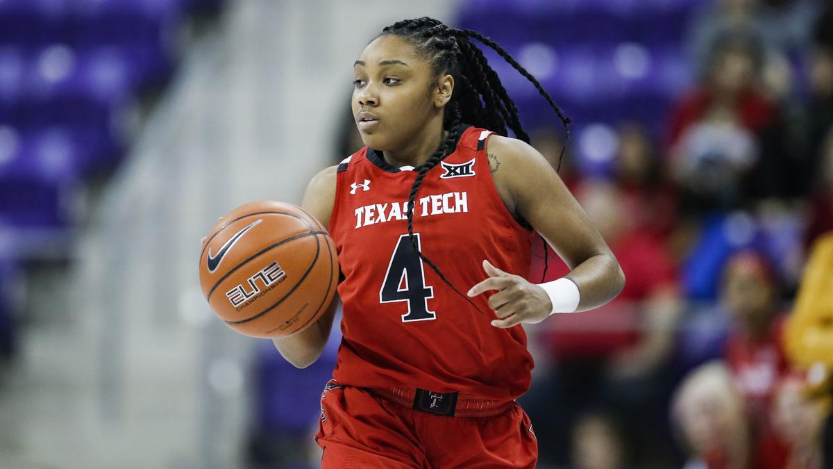 Carr Embraces Role To Lead At Texas Tech College Basketball Qctimes Com