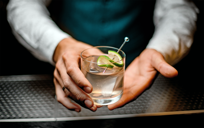 Corn vodka — the new friendly spirit? Apparently so.