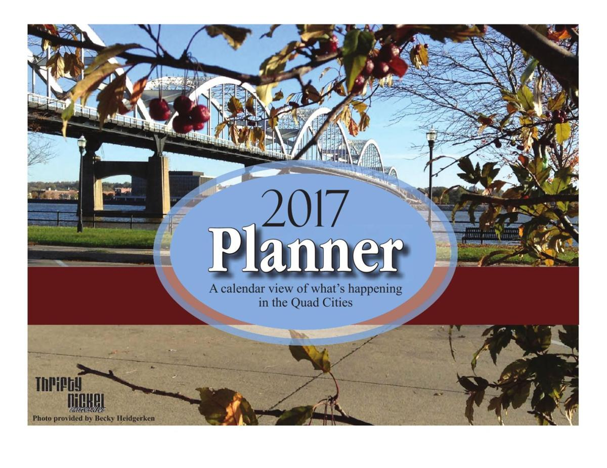 QC Planner 2017 - a calendar of events in the QC