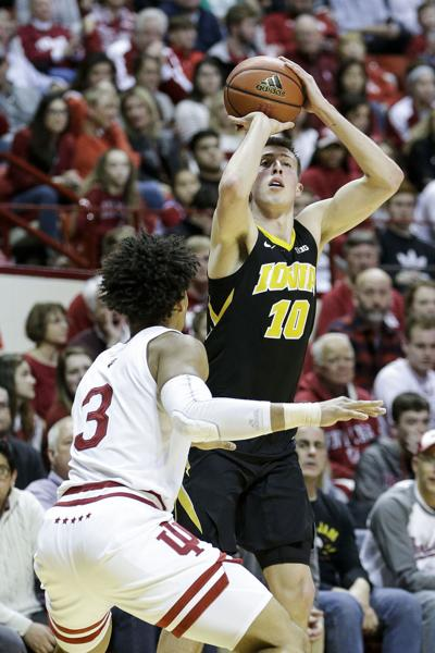 Iowa Indiana Basketball