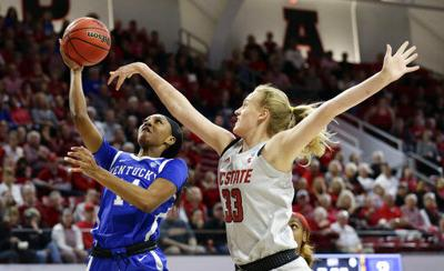 NCAA Kentucky NC State Basketball