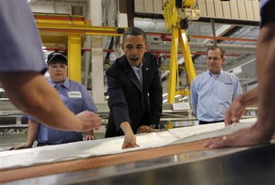 Barack Obama, Robert Gjuraj, Selissa Weber