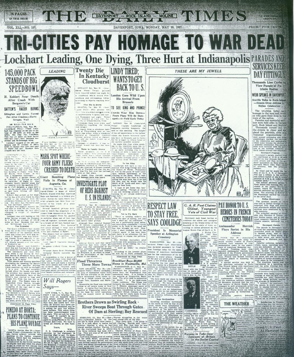 May 30, 1927     qctimes com