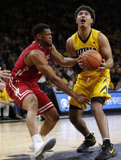 Wisconsin Iowa Basketball
