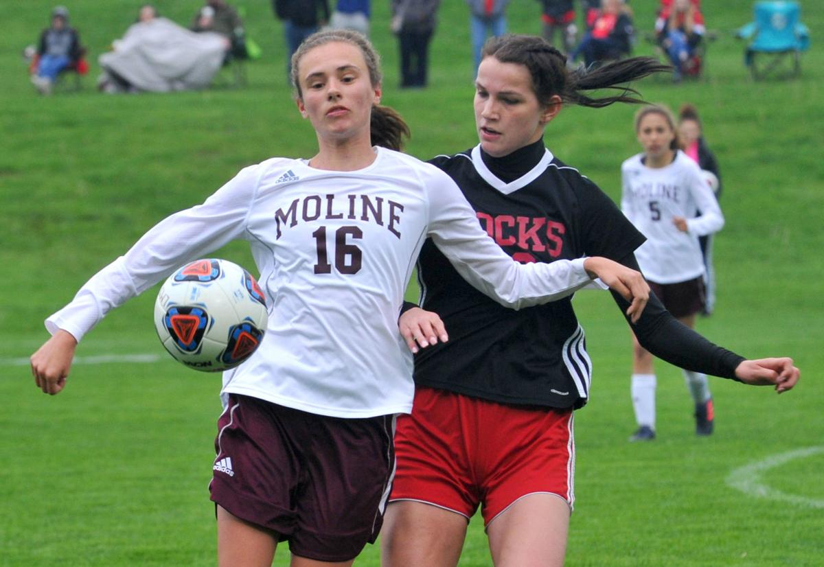 Rock Island at Moline girls soccer