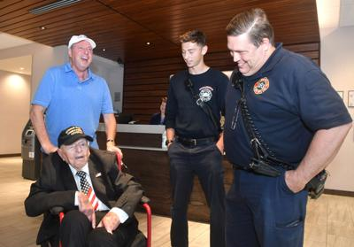 WWII vet stops in Iowa