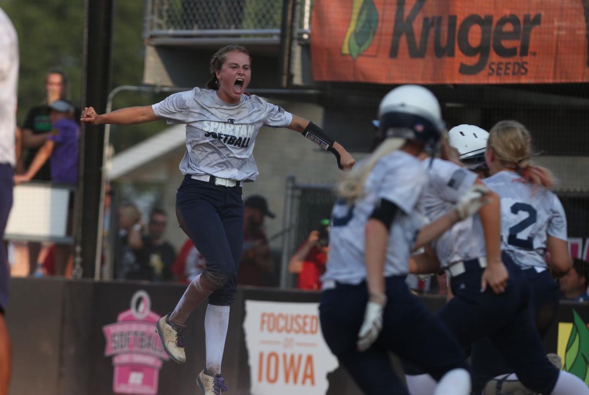 Southeast Polk vs Pleasant Valley softball Class 5A State Quarterfinals - Hassel